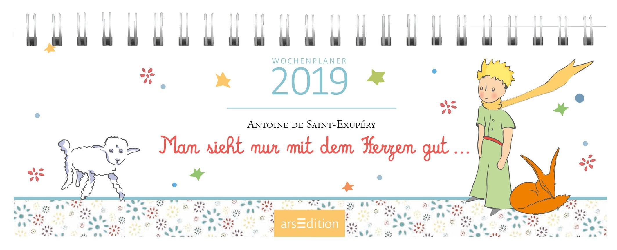 Man sieht nur mit dem Herzen gut 2019: Tischkalender