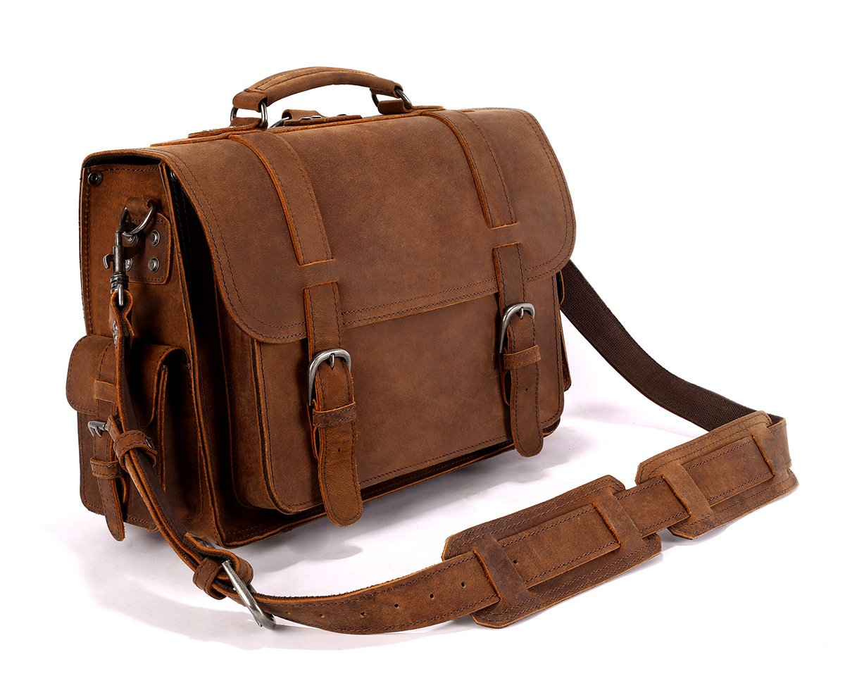 Leyden and Sons Leather Bag Co. - Williamsburg Satchel