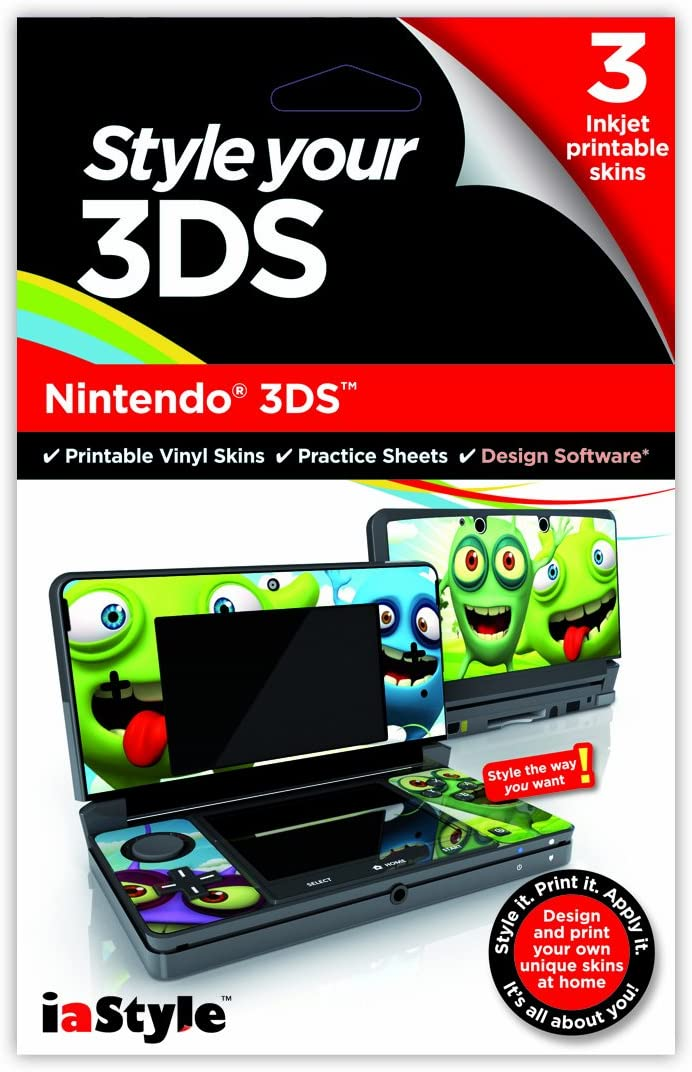 Style Your Nintendo Ds Nintendo 3ds Product Key Card Pc Mac Amazon Co Uk Software