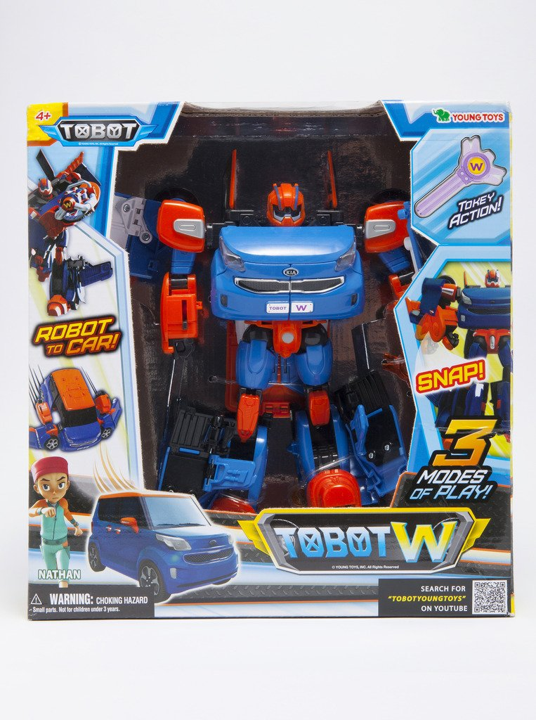 Tobot Youngtoys W Car, Transforming Robot Car to Robot Animation Character by Tobot (Image #2)
