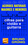 ACORDES NATURAIS MAIORES E MENORES: cifras para violão e guitarra