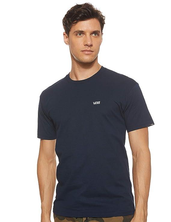 Vans Left Chest Logo tee Camiseta para Hombre: Amazon.es: Ropa y ...