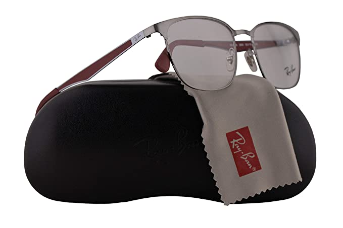 06c02daafd Ray Ban RX6356 Eyeglasses 52-18-145 Brushed Gunmetal w Demo Clear ...