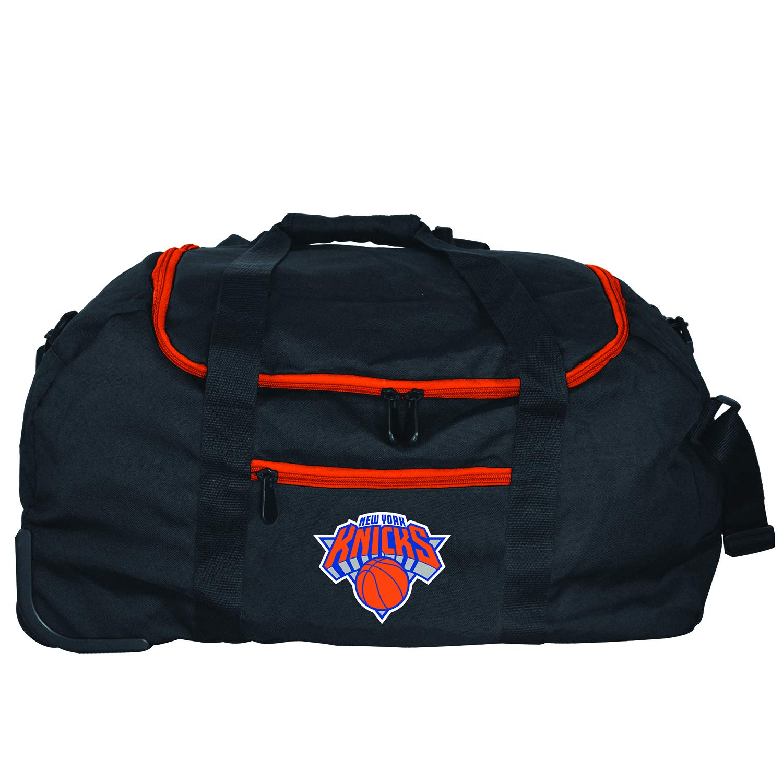 NBA New York Knicks Mini Collapsible Duffel, 22-inches