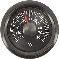 SUMEX TERM628 analógico para Interiores de Coche, Oficina o Casa, Termómetro Adhesivo Temperatura Grados Centígrados…
