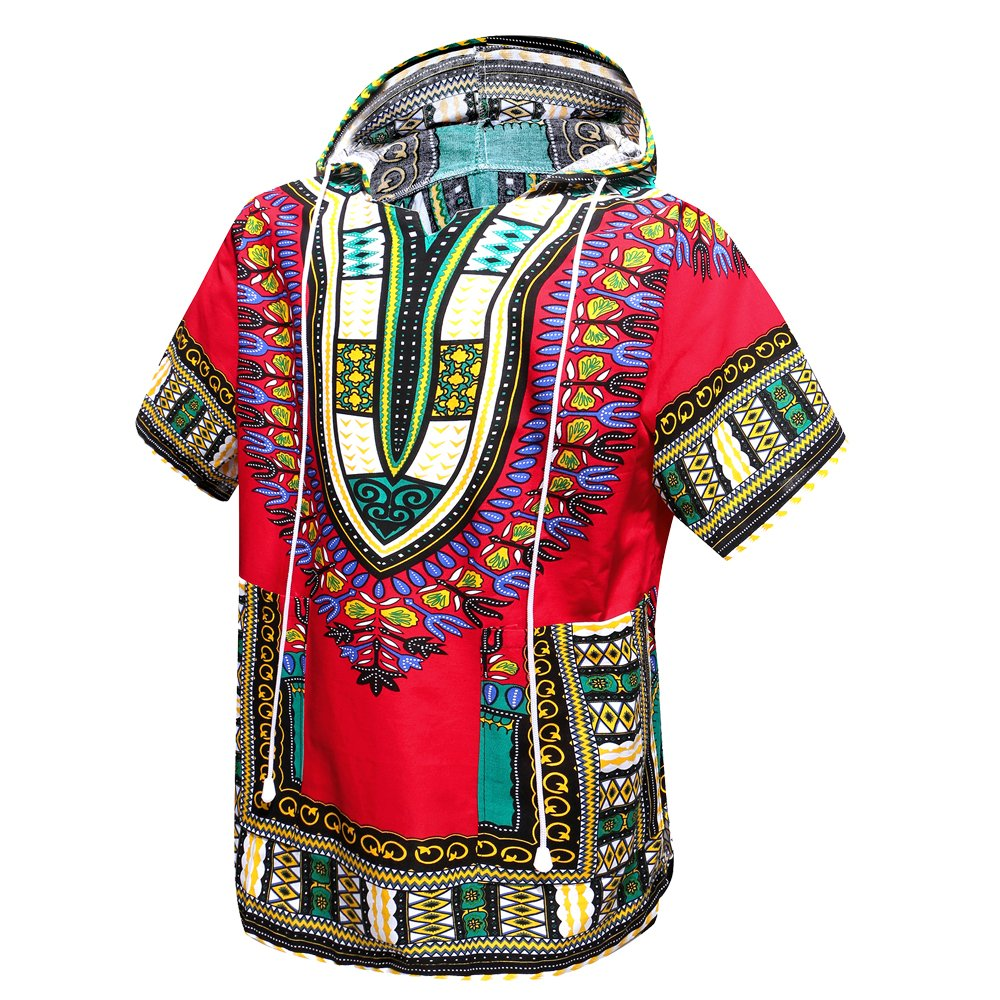 Just No Logo African Dashiki Unisex Traditional Hoodie Top