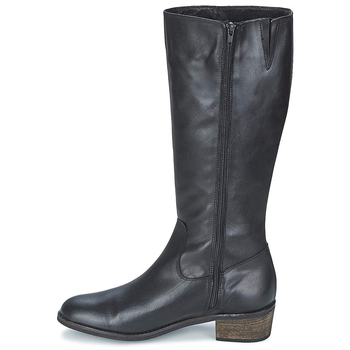 So So So Größe CUOER Stiefel Damen Schwarz Klassische Stiefel 140e73
