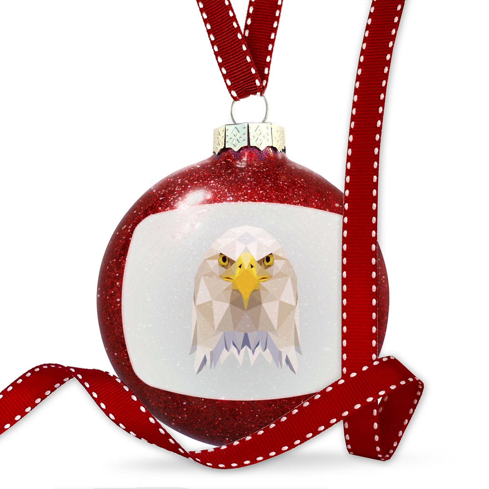 Christmas Decoration Low Poly Animals Modern design Bald Eagle Ornament