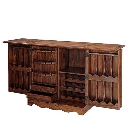 Inhouz INHZ0855(T) Bar Cabinet (Brown)