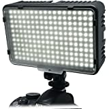 Mcoplus® - 198 LED bianco Ultra High Power Panel Digital Camera / Camcorderper 3200K - 5500K Canon, Nikon, Pentax, Panasonic, Samsung e Olympus Digital SLR