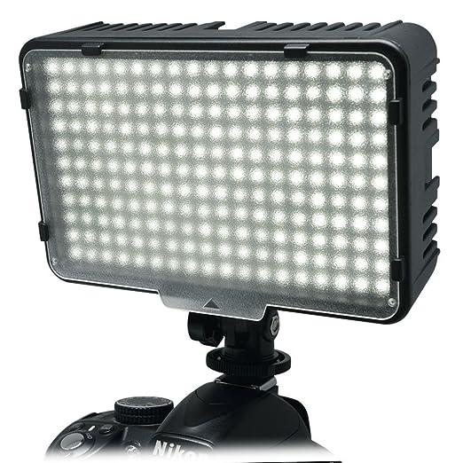 41 opinioni per Mcoplus®- 198 LED bianco Ultra High Power Panel Digital Camera / Camcorderper