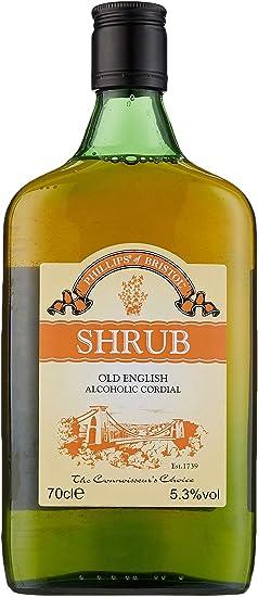 Phillips Of Bristol Shrub Old English Alcoholic Cordial Liqueur 70 Cl