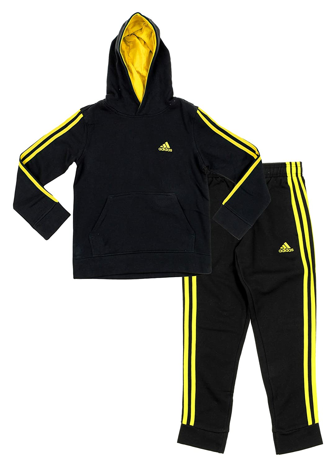 Adidas Youth Big Boys Game Time Hoodie And Pants Set, Color Options