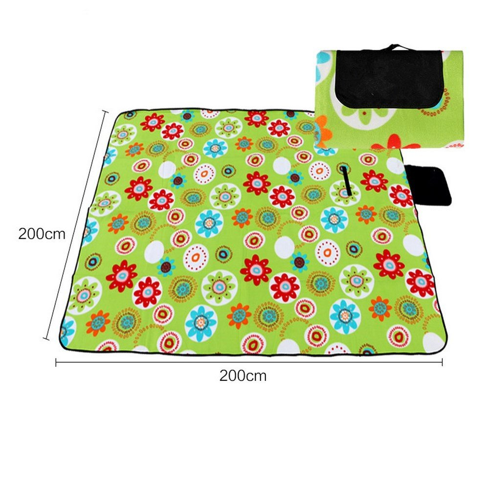 DOGYEARDAJI Outdoor Wasserdichte Faltbare Grasmatten Park Portable Teppich