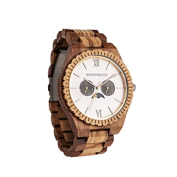 Madera Reloj Hombre | Raw Mirage | Relojes de Madera Natural | la Wood Watch Relojes