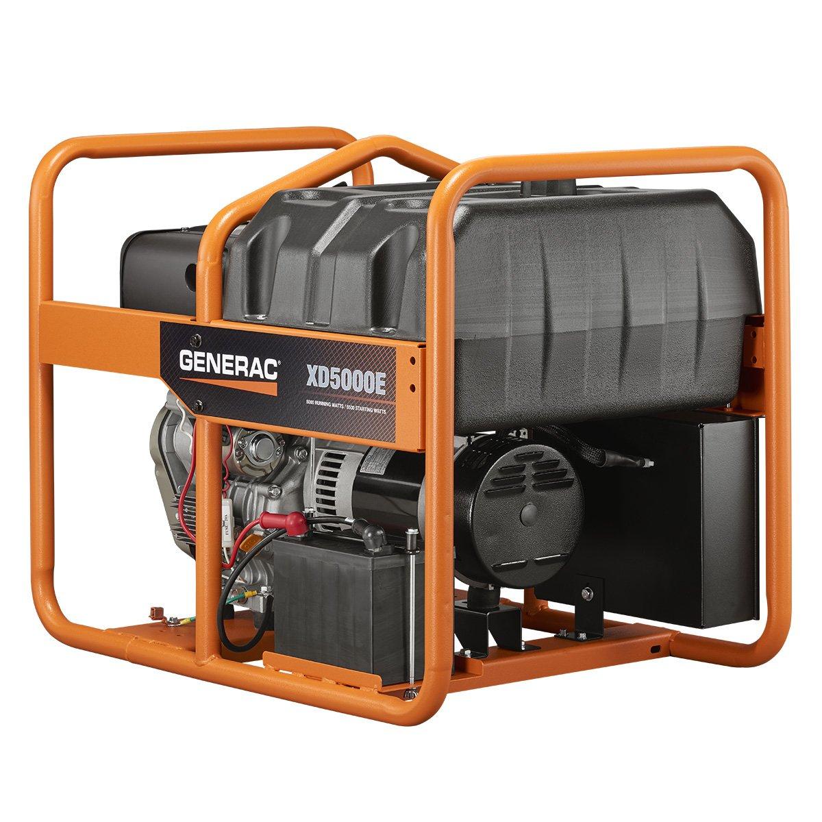 Amazon.com : Generac 6864, 5000 Running Watts/5500 Starting Watts, Diesel  Powered Portable Generator : Garden & Outdoor