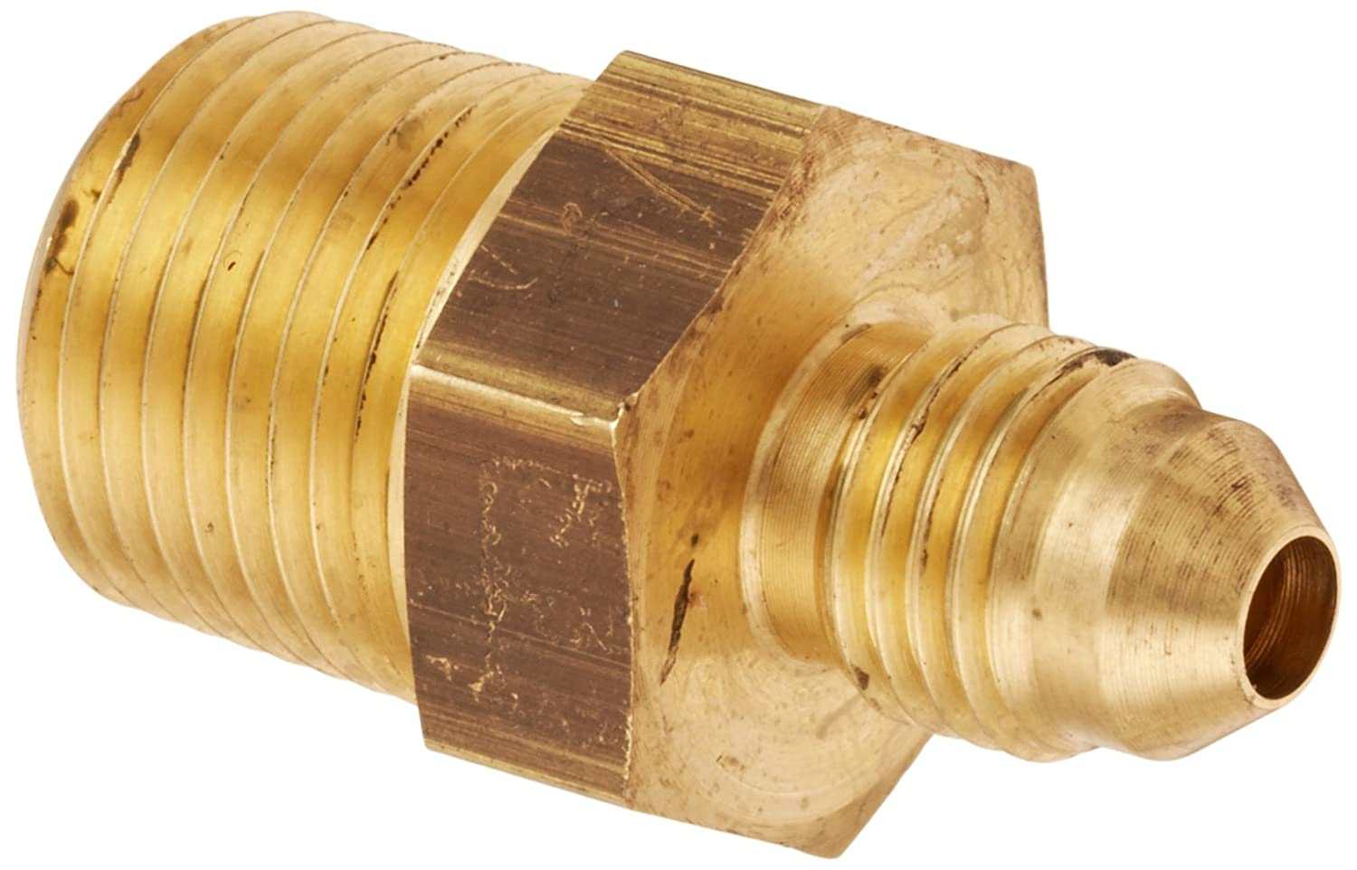 JIC 37 Degree /& NPT End Types Pack of 4 1//4 NPT Eaton Aeroquip 2021-4-6B Male Connector Male Pipe Thread Pack of 4 End Size m Brass m Male 37 Degree JIC 3//8 Tube OD x 3//8 JIC 3//8 Tube OD Eaton Products