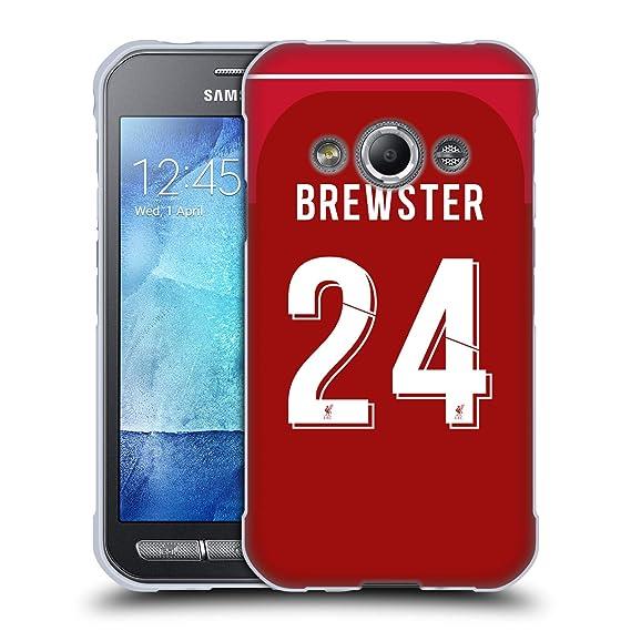 on sale 723ec 52572 Amazon.com: Official Liverpool Football Club Rhian Brewster 2018/19 ...