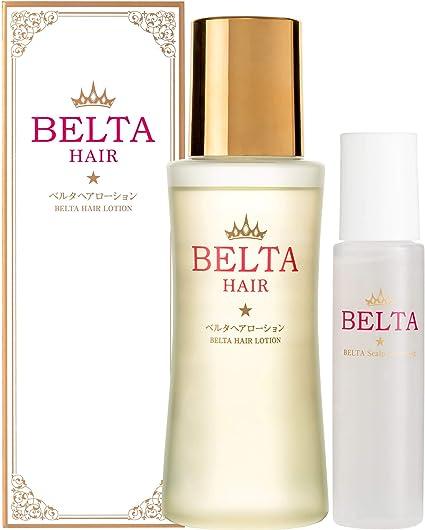 Amazon | 育毛剤 女性用 薬用 BELTA ヘアローション (クレンジング1個 ...