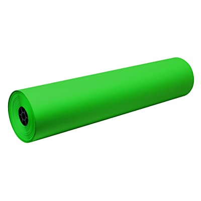 Decorol Art Paper Construction Paper Rolls - 36 inch x 500 feet - Festive Green: Industrial & Scientific