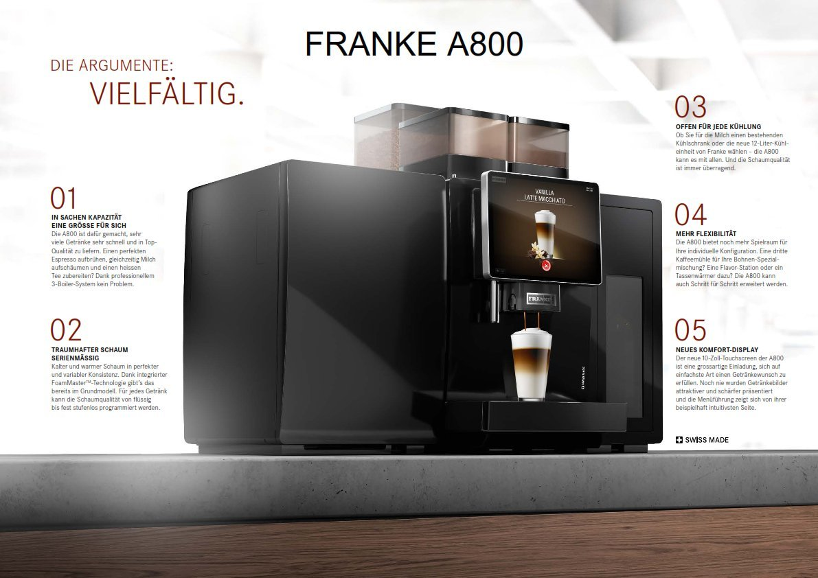 Franke FM Milk System Cleaner Specifically for Franke Fully ...