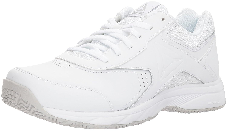 Reebok Women's Work N Cushion 3.0 Wide D Sneaker B073XBPG8Q 5 B(M) US|White/Steel - Wide D