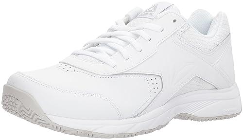 Reebok Women's Work N Cushion 3.0 Wide D Walking Shoe, White