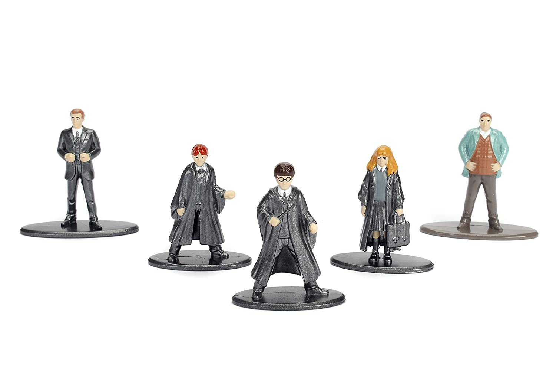 Harry Potter-5 figurines Nano Metalfigs