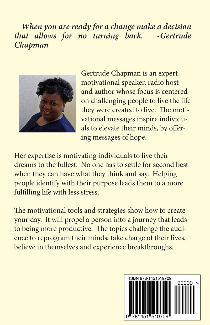 Motivation From Within Leveraging Your Power Gertrude J