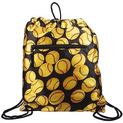 Fastpitch Softball Drawstring Backpack