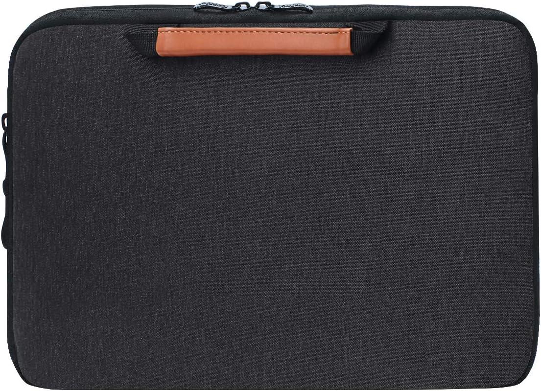 Icozzier 13 13 3 Zoll Griff Elektronisches Zubehör Gurt Laptop Schutzhülle Tasche Schutzhülle Für 13 Macbook Air Macbook Pro Pro Retina Schutzhülle Schwarz Koffer Rucksäcke Taschen