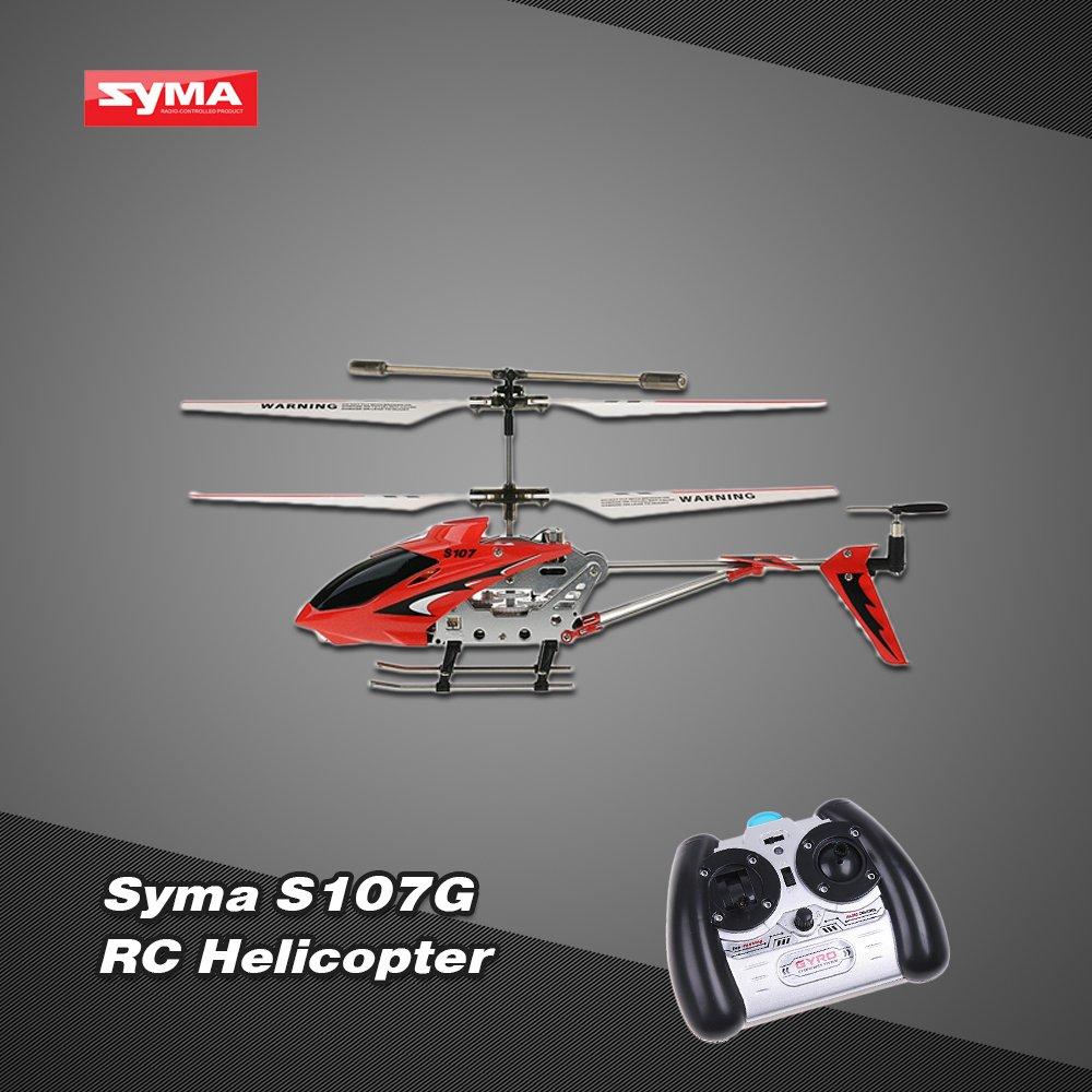 Syma S107G 3 Canali Elicottero infrarossi controllata con Controllo di stabilit/à giroscopica