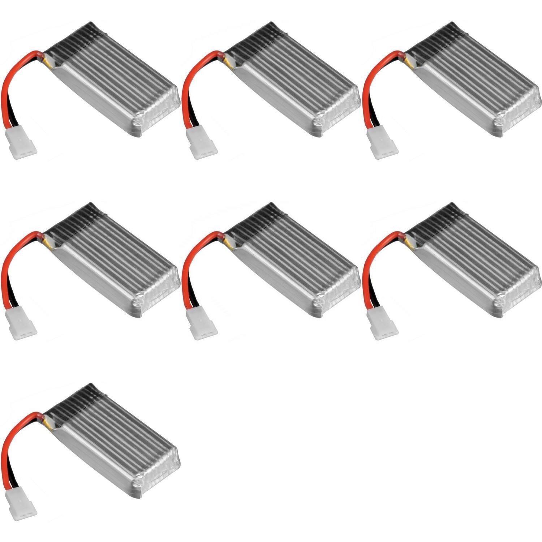 7 x Quantity of Estes Dart Battery 3.7v 380mAh 25c Li-Po RC Part - FAST FROM Orlando, Florida USA!