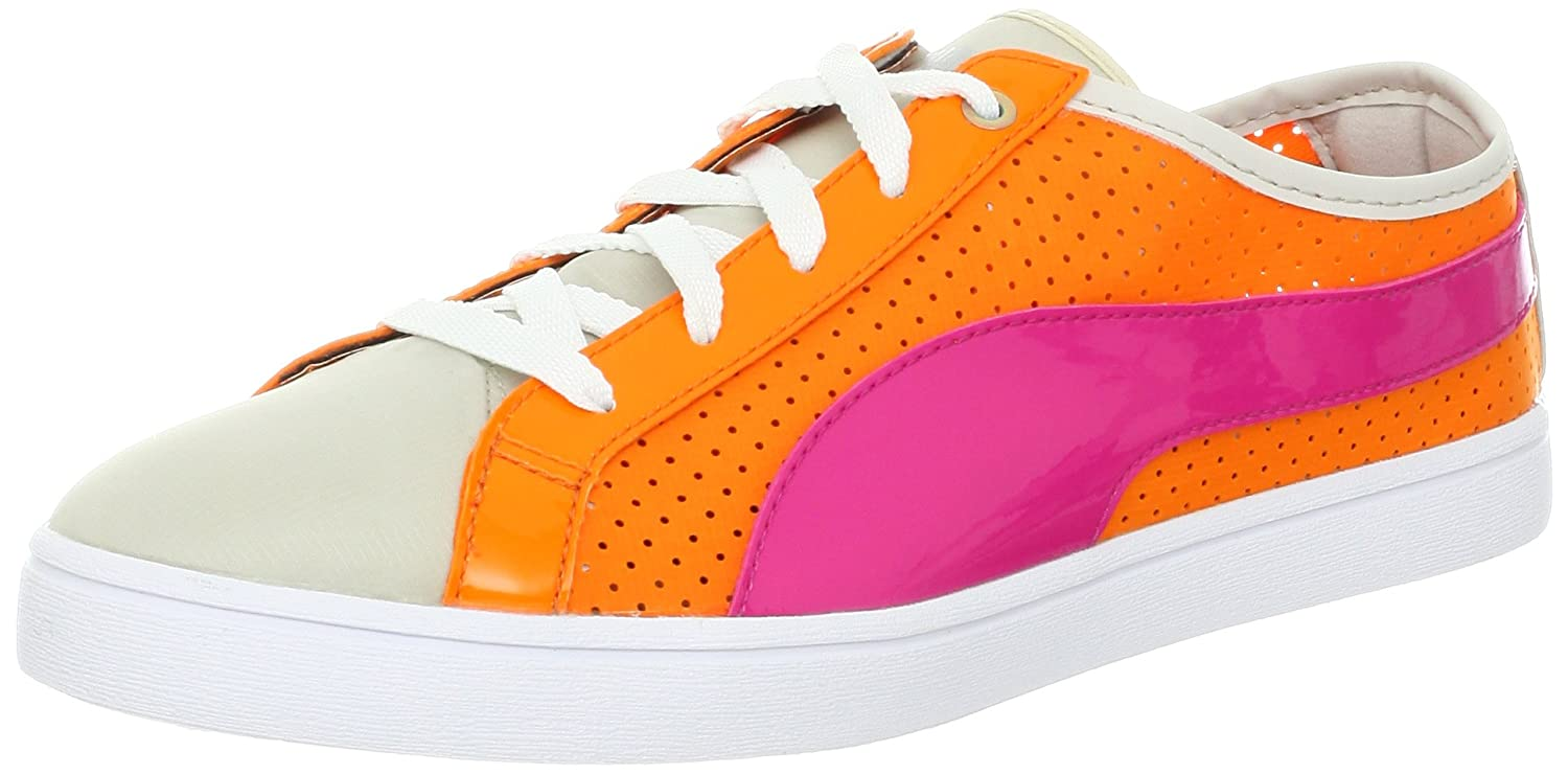 Puma Kai Lo Perforierte Schuh  US 8.5 | UK 6 | EU 39|Orange Popsicle