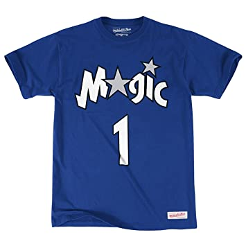 Mitchell & Ness – Camiseta de la NBA Tracy McGrady Orlando Magic Mitchell & Ness nombre