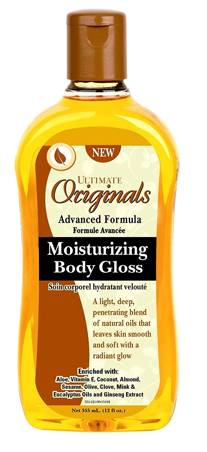 Ultimate Originals Moist Body Gloss 12 Ounce (354ml) Ultimate Organics AB20263