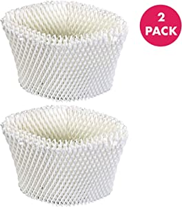Crucial Air Replacement Humidifier Air Filters Compatible with Vicks Part WF2 Humidifier Models V3500N, V3100, V3900, V3700 Sunbeam 1118, Honeywell HCM 350 - Home, Air Cleaners - (2 Pack)