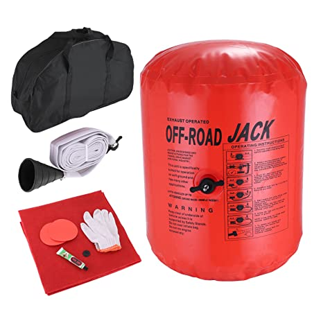 Happybuy Exhaust Air Jack 4 Ton 8800LBS Bag Lift Pressure Pneumatic Off