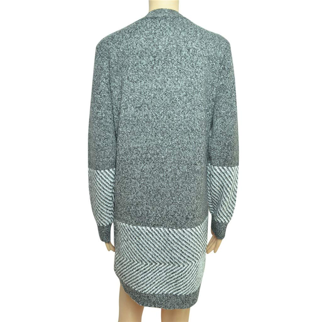 Long Sleeves Casual Winter Warm Plus Size Soft Soild V Neck Loose Hem Knitting Sweatshirts Tops UOKNICE Womens Blouses