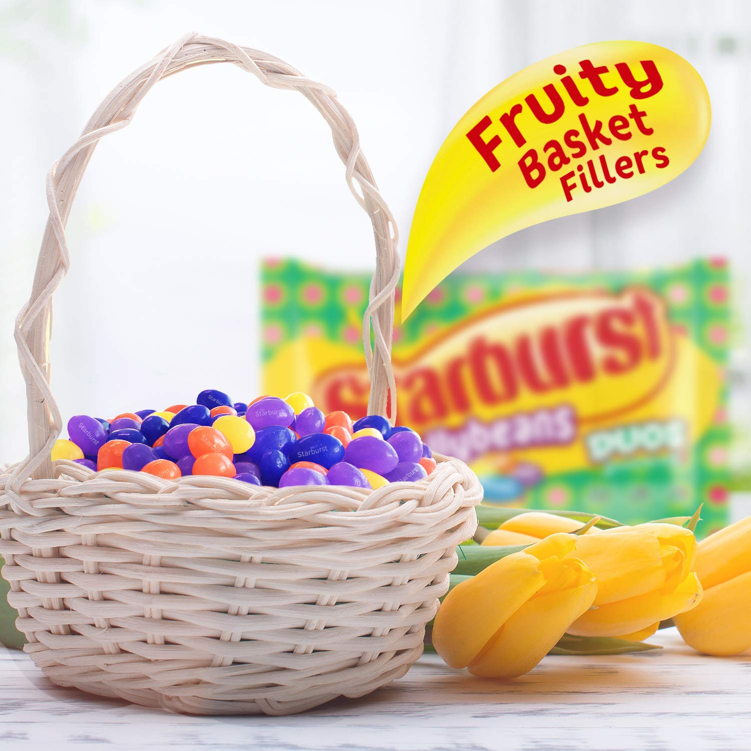 Starburst Easter Duos Jelly Beans Candy, 13 Ounce (Pack of 12) by Starburst (Image #5)