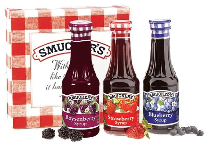 Smucker de frutas Syrups Caja de Regalo: Amazon.com: Grocery ...