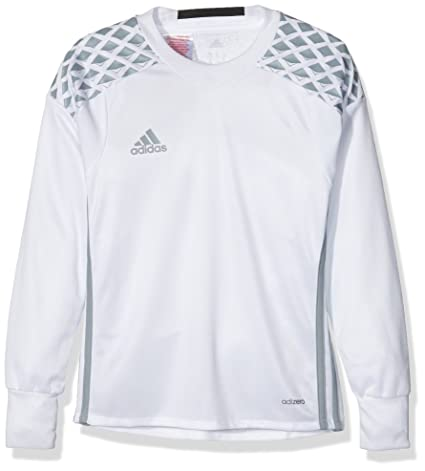 6e862afce0e adidas Performance Onore Boys Soccer Padded Goalie Jersey - White - 2XS