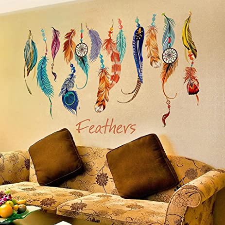 Amazon.com: Home decoration Self-Adhesive Wall Stickers Stickers ...