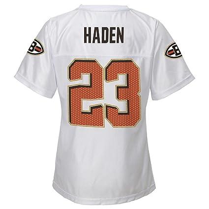 save off d3356 21475 Amazon.com : Outerstuff Joe Haden NFL Cleveland Browns White ...