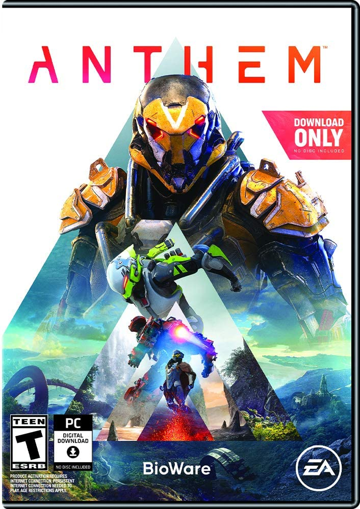 Amazon com: Anthem [Online Game Code]: Video Games