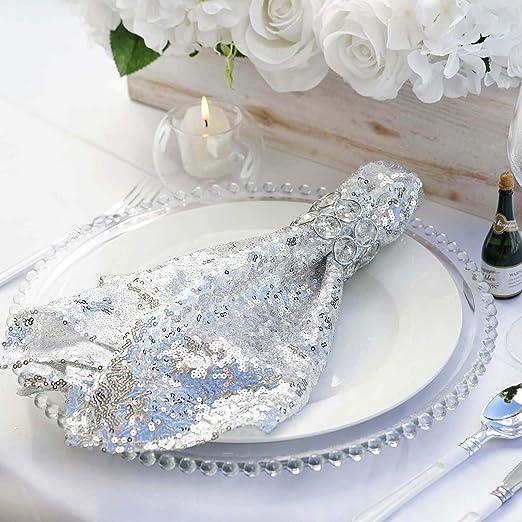 """White Wedding Linen Restaurant Diner vp 20/""""x20/"""" inch Cotton Cloth Napkin"""