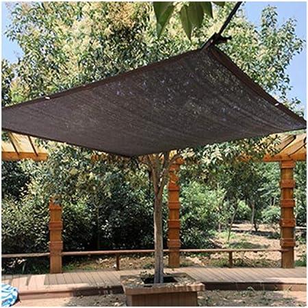 Jardín Velas de Sombra, a Prueba de Viento Tasa de Sombreado 75% Durable Piscina Patio Zona de Barbacoa Rectángulo Plaza de Aparcamiento Hebilla de Borde Sun Screen Shelter,2X3m: Amazon.es: Hogar
