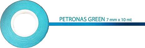 Verde Petronas Stripes Strisce Adesive per Auto 7 mm x 10 mt