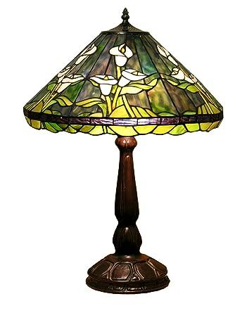 Warehouse Of Tiffany Tf18228tl Tiffany Style Tulip Table Lamp