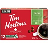Tim Hortons Decaf Coffee, Single Serve Keurig K-Cup Pods, Medium Roast, 12ct Pack